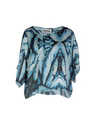 5Preview Shirts Blouses Women Turquoise