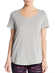 Andrew Marc New York Super Wash Tee Grey