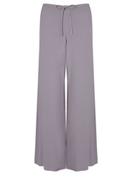Ghost Teresa Drawstring Wide Leg Trousers Smokey Quartz