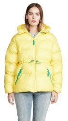 Hunter Boots Original A Line Puffer Jacket Lightning Yellow