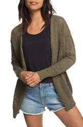 Roxy Summer Bliss Cardigan Burnt Olive