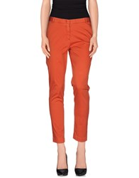 Heavy Project Trousers Casual Trousers Women Rust