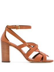 Tod's Cognac Sandals Brown