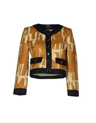 Orla Kiely Blazers Brown