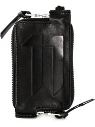 11 By Boris Bidjan Saberi Engraved Logo Wallet Black