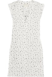 Band Of Outsiders Printed Cotton Voile Shirt Dress
