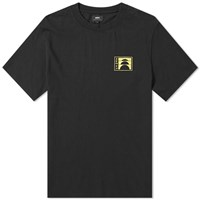 Edwin Sunrise Logo Chest Tee Black