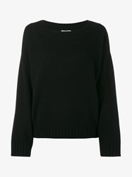 Vince Crew Neck Sweater Black