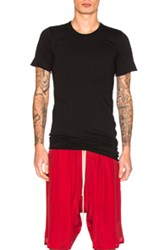 Rick Owens Basic Short Sleeve Tee In Black