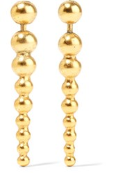 Elizabeth Cole Tamara Gold Plated Earrings One Size