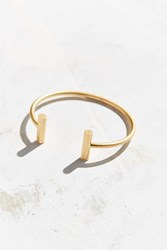 Urban Outfitters Barbell Bracelet Gold