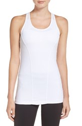 Lole Women's Central Tank With Sports Bra White