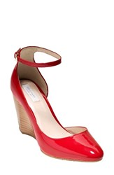 Cole Haan Women's Lacey Wedge Goji Berry Patent