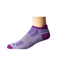 Wrightsock Stride Tab Purple Low Cut Socks Shoes