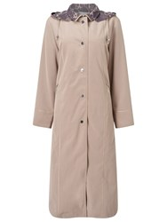 Jacques Vert Classic Long Length Mac Mid Neutral