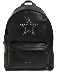 Givenchy Small Studded Star Leather Backpack