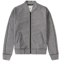 Reigning Champ Heavyweight Terry Varsity Jacket Grey