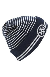 Women's Tory Burch Reversible Knit Beanie
