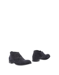 Rocco P. Ankle Boots Dark Blue