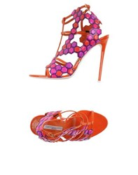 Gianmarco Lorenzi Footwear Sandals Women Orange