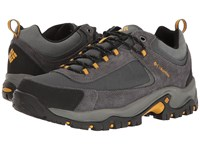 Columbia Granite Ridge Waterproof Dark Grey Golden Yellow Men's Shoes Black