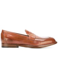 Officine Creative Classic Penny Loafers Brown