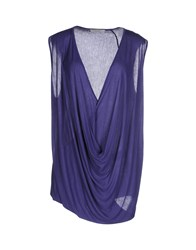 Alpha Studio Topwear Tops Women Purple