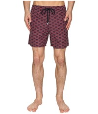 Vilebrequin Moorea Anchor Of China Swim Trunk Navy Red