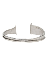 1 100 Silver Bangle Metallic