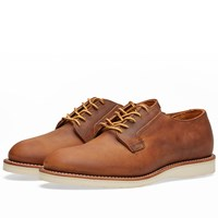 Red Wing Shoes 3118 Heritage Work Postman Oxford Brown