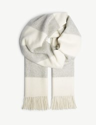 Ralph Lauren Purple Label Cashmere Scarf Grey