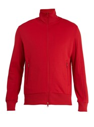 Y 3 Zip Through Track Jacket Red