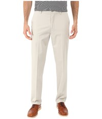 Dockers Signature Khaki D1 Slim Fit Flat Front Cloud Stretch Men's Dress Pants White