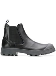 Brimarts Chunky Sole Chelsea Boots Black