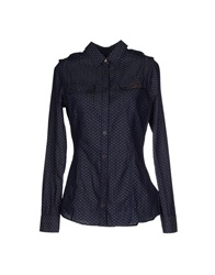 Barbour Shirts Dark Blue