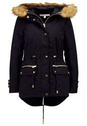 Miss Selfridge Petite Parka Navy Blue Dark Blue