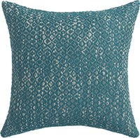 Cb2 Diamond Weave Swoon 18'' Pillow With Down Alternative Insert