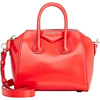 Givenchy Women's Antigona Mini Duffel Red