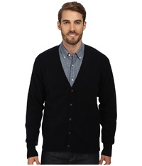 Pendleton Shetland Cardigan Sweater Navy Men's Sweater