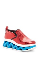 Marc By Marc Jacobs Ninja Wave Skate Sneaker Red