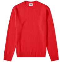 Harmony Winston Boiled Wool Knit Red