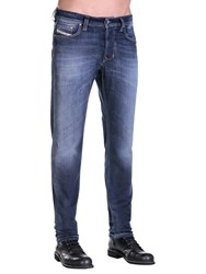 Diesel Larkee Beex 0860L Stretch Tapered Jeans Mid Blue