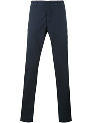 Tomas Maier Classic Trousers Blue