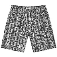 Saturdays Surf Nyc Timothy Kuba Cloth Swim Short Black