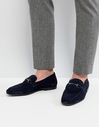 Kg By Kurt Geiger Loafers In Navy Blue