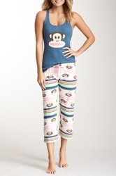 Paul Frank Tank And Capri Set Blue