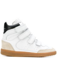 Isabel Marant Bilsy High Top Sneakers White