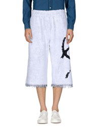 Haal Trousers 3 4 Length Trousers White