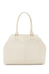 Cole Haan Lena Ii Leather Tote White