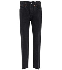 Re Done High Waisted Jeans Black
